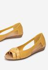 Żółte Balerinki Dorimea