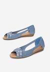 Niebieskie Balerinki Dorimea