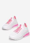 Biało-Różowe Buty Sportowe Arishell