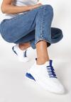 Biało-Niebieskie Buty Sportowe Arishell
