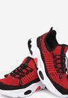 Czarno-Czerwone Buty Sportowe Thalala
