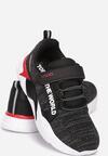 Czarno-Czerwone Buty Sportowe Allulila