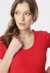 Czerwony T-shirt Blomsea