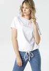 Biały T-shirt Malinore