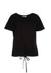 Czarny T-shirt Malinore