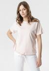 Jasnoróżowy T-shirt Malinore