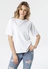 Biały T-shirt Crialacia