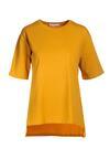 Camelowy T-shirt Crialacia