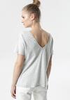 Jasnoszary T-shirt Laigana