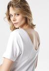 Biały T-shirt Laigana