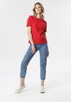Czerwony T-shirt Laigana