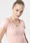 Różowy T-shirt Aegameda