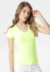 Żółty T-shirt Aegameda