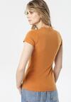 Jasnobrązowy T-shirt Aegameda