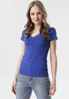 Granatowy T-shirt Aegameda