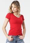 Czerwony T-shirt Aegameda