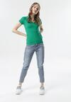 Zielony T-shirt Aegameda