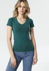 Ciemnozielony T-shirt Aegameda