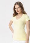 Jasnożółty T-shirt Aegameda