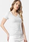 Jasnoszary T-shirt Aegameda