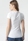 Biały T-shirt Aegameda
