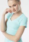 Jasnoniebieski T-shirt Aegameda