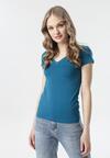 Ciemnoniebieski T-shirt Aegameda