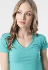 Niebieski T-shirt Aegameda