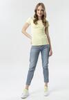 Żółty T-shirt Echolaira