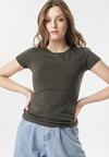Khaki T-shirt Echolaira