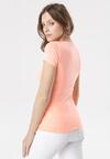 Pomarańczowy T-shirt Echolaira