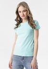 Jasnoniebieski T-shirt Echolaira