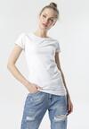 Biały T-shirt Echolaira