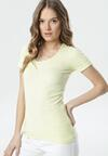 Żółty T-shirt Ananore