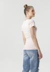 Jasnoróżowy T-shirt Ananore