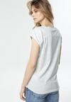 Jasnoszary T-shirt Luaphis