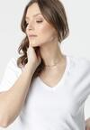Biały T-shirt Wrafdiff