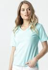 Jasnoniebieski T-shirt Sada