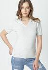 Jasnoszary T-shirt Sada