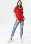Czerwony T-shirt Sada