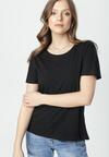 Czarny T-shirt Aclurgh