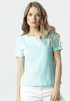 Jasnoniebieski T-shirt Aclurgh