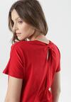 Czerwony T-shirt Aclurgh