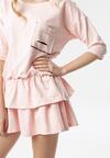 Jasnoróżowa Sukienka Lorene