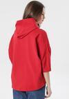 Czerwona Bluza Joann
