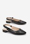 Czarne Sandały Zhathea