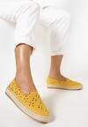 Żółte Espadryle Aetherena