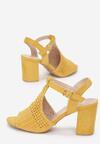 Żółte Sandały Hidia