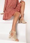 Beżowe Sandały Hidia