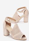 Beżowe Sandały Morecine